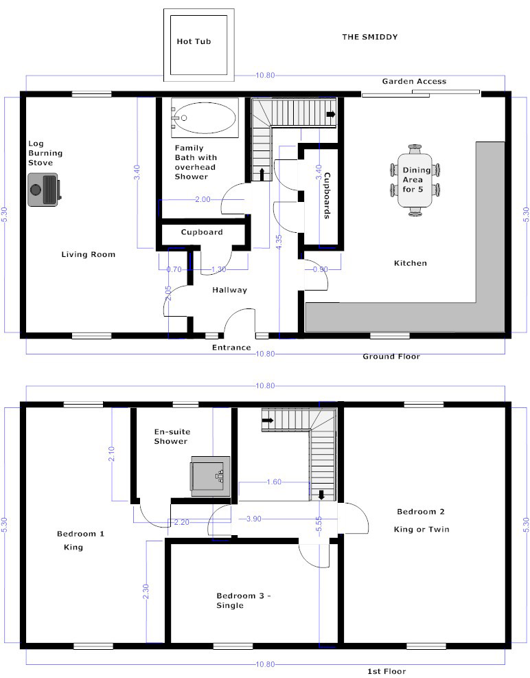 Smiddy Floorplans